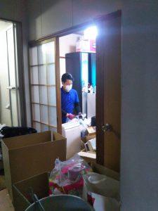 【作業実績】摂津市にてお部屋のお片付け清掃を実施