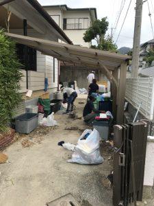 【作業実績】兵庫県河辺郡にて空き家整理、お部屋のお片付けを実施。