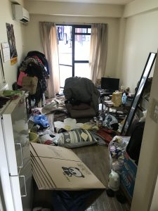 【作業実績】堺市中区にてお部屋のお片付けを実施。