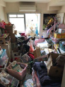 【作業実績】堺市中区にてゴミ屋敷清掃を実施。