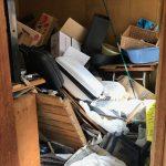 【作業実績】城東区にてゴミ屋敷清掃を実施。