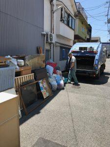 【作業実績】大阪市西成区にて空き家整理・空室整理を実施。