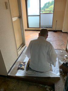 【作業実績】堺市中区にて遺品整理を実施。