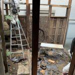 【作業実績】大阪市東住吉区にて家屋解体を実施。
