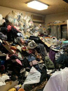 【作業実績】京都市伏見区にて遺品整理・ゴミ屋敷清掃を実施。